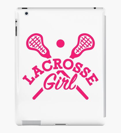Lacrosse girl iPad Case/Skin