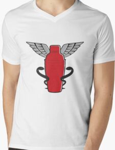 Time to Take Your Medicine Mens V-Neck T-Shirt
