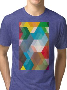 Triangles and more shapes Tri-blend T-Shirt