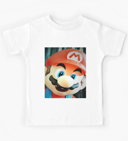 PHOTO SHOOT WITH MARIO  Kids Tee