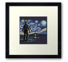 Starry Link Framed Print