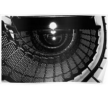 Yaquina Head Light (Lighthouse) Staircase Poster