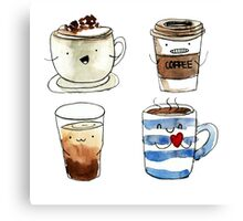 For coffee lover Canvas Print