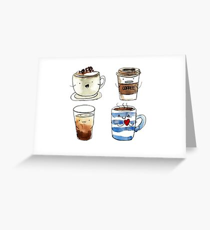 For coffee lover Greeting Card