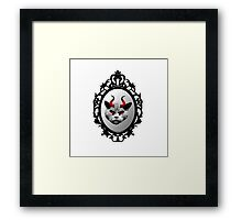 Angry Cat! Framed Print
