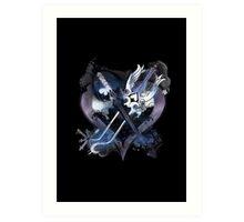 Kingdom Hearts 2 Art Print