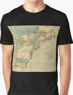 A new and accurate map of North America (1771) Graphic T-Shirt