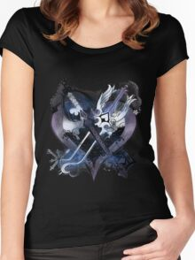 Kingdom Hearts 2 Women's Fitted Scoop T-Shirt