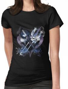 Kingdom Hearts 2 Womens Fitted T-Shirt