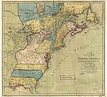 A new and accurate map of North America (1771) Photographic Print