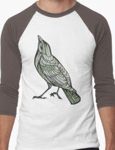 Green Sparrow Men's Baseball ¾ T-Shirt