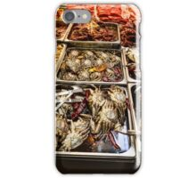Market Place Crabs and More iPhone Case/Skin