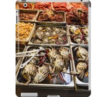 Market Place Crabs and More iPad Case/Skin