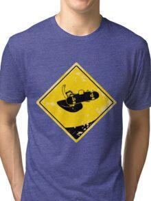 Tuck knee indy air Tri-blend T-Shirt
