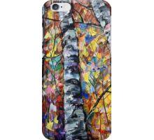 White Trees by Lena Owens/OLena Art iPhone Case/Skin