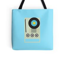 Portable Record Player Tote Bag