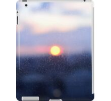 London UK, through glass iPad Case/Skin
