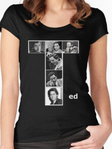 Ted Bundy Serial Killer Women's Fitted Scoop T-Shirt