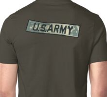 ARMY, US ARMY BADGE, Army Combat Uniform Unisex T-Shirt