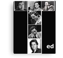 Ted Bundy Serial Killer Canvas Print
