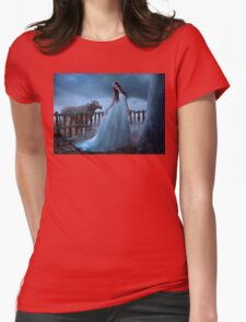 woman full of beauty Womens Fitted T-Shirt