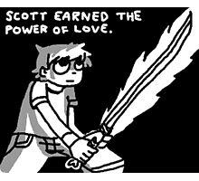 Scott Pilgrim vs The World Cartoon Photographic Print