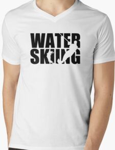 Water skiing Mens V-Neck T-Shirt