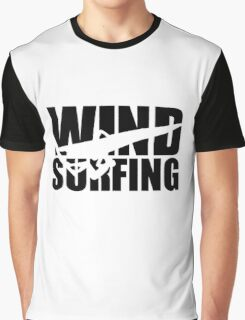 Windsurfing Graphic T-Shirt