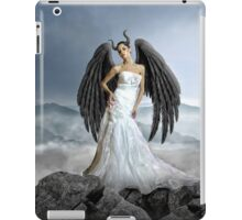 winged woman with beauty iPad Case/Skin