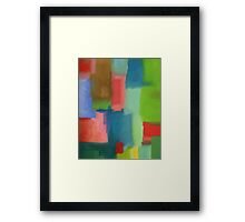 Seeing in Colour 1 Framed Print