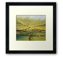 Kerry farmhouse Framed Print