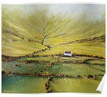 Kerry farmhouse Poster