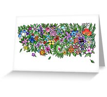 Annalisa Flowers Greeting Card