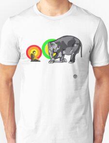 Buddha & The Elephant  T-Shirt