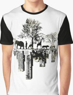 Nature -human Graphic T-Shirt