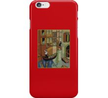 Venice Italy Canals Gondolier Romance Love Story Kirsten Designs iPhone Case/Skin