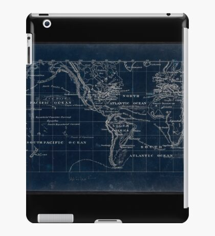 053  Map of the world on the Mercator projection Inverted iPad Case/Skin