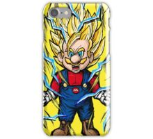 Super Mario Z - SSJ2 iPhone Case/Skin