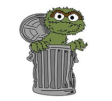 Oscar The Grouch Photographic Print