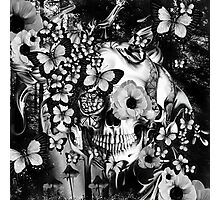 REM, illusions skull Photographic Print