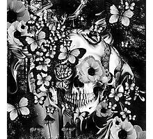 REM, illusions skull Photographic Print