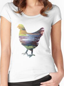 Fowl Women's Fitted Scoop T-Shirt