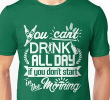 Drinking Party Starts Early St Patrick's Day Unisex T-Shirt