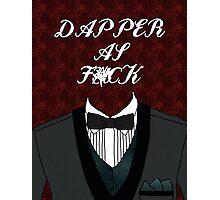 Dapper As Fuck [Tuxedo] Photographic Print