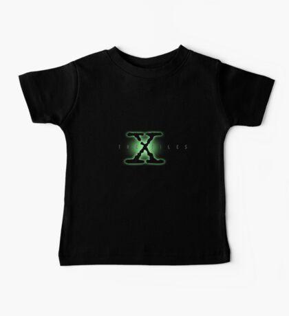 The X Files Logo Baby Tee