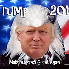 Trump Eagle by EyeMagined
