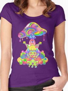 Mush for Brains Women's Fitted Scoop T-Shirt