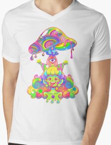 Mush for Brains Mens V-Neck T-Shirt