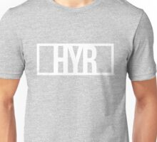 Hide Your Right White Unisex T-Shirt