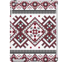 Printed Knit Leggings geometric design ornament style legging iPad Case/Skin